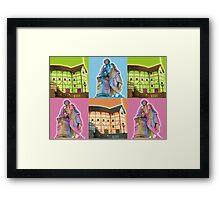 Globe Theatre  Framed Print