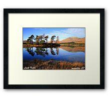Loch  Tulla  Inveroran   Argyll Framed Print