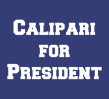 Calipari for President! by jdbruegger