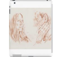 The First Face - Eleven and Amy iPad Case/Skin