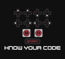 """""""Know Your Code"""" Nintendo NES Konami Code by unluckydevil"""