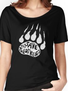 Save The Polar Bears  Women's Relaxed Fit T-Shirt
