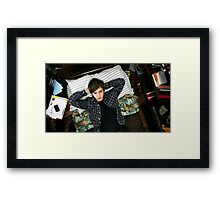 the art of getting by Framed Print