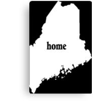 Original Maine Home - Tshirts & Hoodies Canvas Print