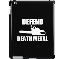Defend Death Metal iPad Case/Skin