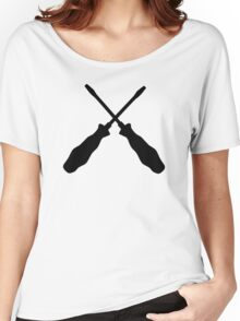 Crossed screwdriver Women's Relaxed Fit T-Shirt