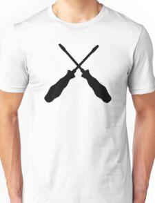 Crossed screwdriver Unisex T-Shirt