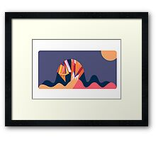 Death on Mars Framed Print