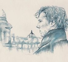 A Study In Blue - Sherlock by beckiebray