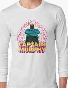 Captain Murphy - Flames Long Sleeve T-Shirt