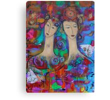 My Sister, My Friend Canvas Print