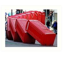 The Domino Effect - Out of Order !!!! Art Print