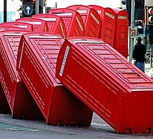 The Domino Effect - Out of Order !!!! by Colin J Williams Photography