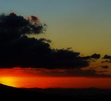 Rodeo Sunset Canton de Mora Costa Rica by Guy Tschiderer