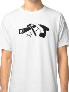 Screwdriver hammer nails saw Classic T-Shirt