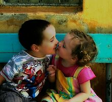 The kiss by micklyn