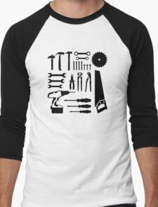 Tools set Men's Baseball ¾ T-Shirt