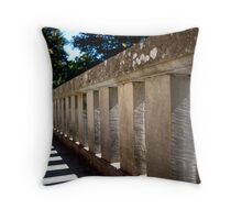 Ladder Shadow Throw Pillow