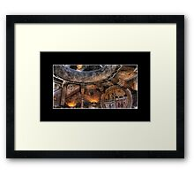 Grand Canyon Tower Abstract No 1 Framed Print