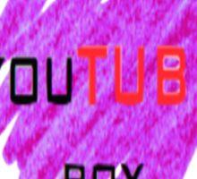 I'm a youtube boy Sticker
