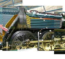 Cut Away Steam Engine (Photos x3) by Woodie