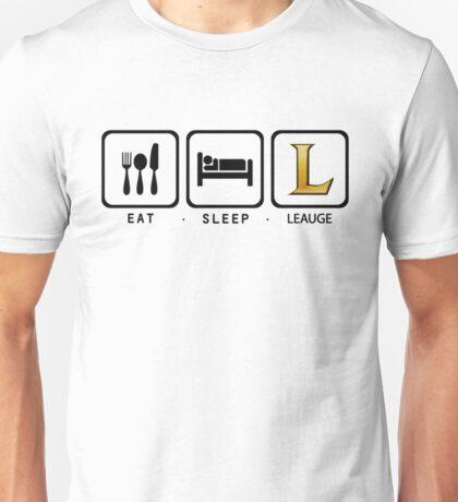 Eat Sleep League Unisex T-Shirt
