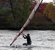 Windsurfing by Carole Brunet