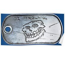 Troll Dogtag Poster