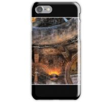 Grand Canyon Tower Abstract No 1 Poster iPhone Case/Skin