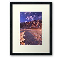 Saline Valley Sunrise Framed Print