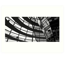 Reichstag Dome 2 Art Print