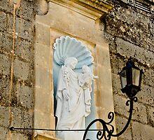 St Joseph niche in Hal-Gharghur - Malta by BertuMalta