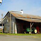 The Old Horse Barn by WildestArt