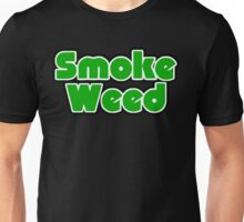 Smoke Weed - Sleep Logo Unisex T-Shirt