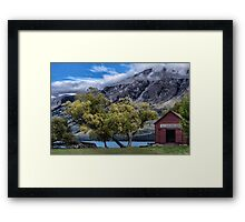Glenorchy New Zealand Framed Print