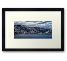 Lake Wakatipu New Zealand Framed Print