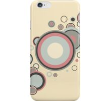 Retro Streaming Rings iPhone Case/Skin