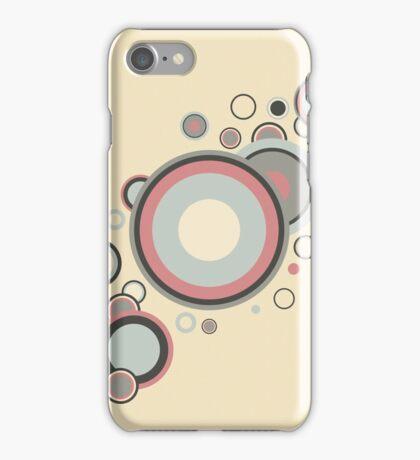 Retro Streaming Rings iPhone Case/Skin