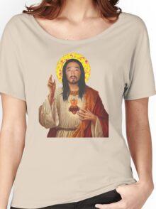 'Stevus Christ' - Steve Aoki/ Dim Mak Women's Relaxed Fit T-Shirt