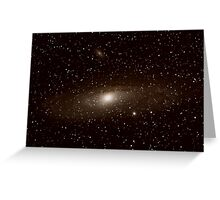 M31 - The Great Andromeda Galaxie Greeting Card
