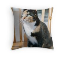 Sophie looking Bad Throw Pillow