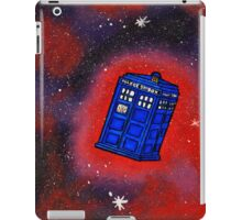 Police Box in Flight iPad Case/Skin