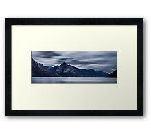 Lake Wakatipu 3 New Zealand Framed Print