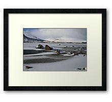 Blackmount Snowbound Framed Print