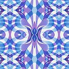 Floral Geometric Abstract by Medusa81