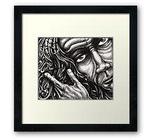 Flowing Patterns... Framed Print
