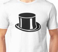 Black top hat Unisex T-Shirt