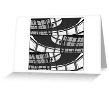 reichstag  3 Greeting Card