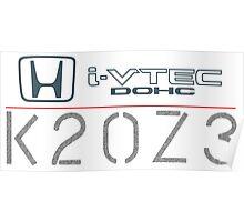 Civic SI K20Z3 Poster