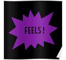 FEELS - PURPLE Poster